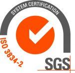 ISO 3834-2 sertifikaatti